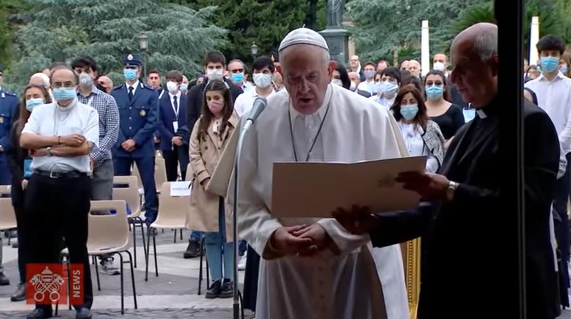 【Kirishin】教皇、パンデミックによる試練に置かれた世界のために祈る 2020年6月1日